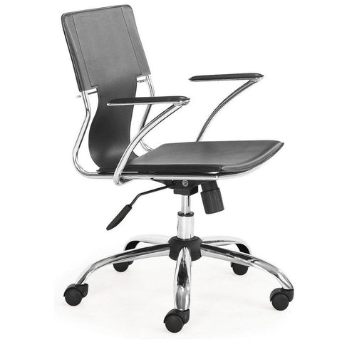 Elegant Aluminum Style Office Chair