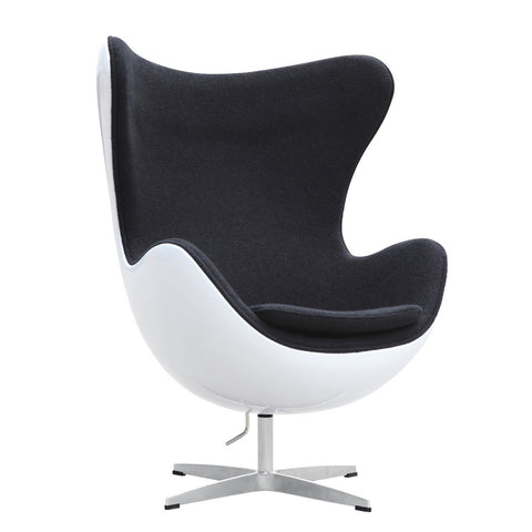 Replica Arne Jacobsen Egg Chair - Fiberglass