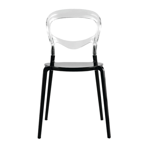 Evo Acrylic Dining Side Chair