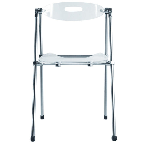 Telescoping Acrylic Folding Chair