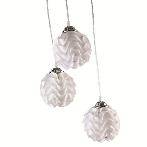 Poul Christiansen LK172 Style Hanging 3-Pc Lamp