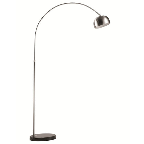 "Arco Lamp MidSize Coaster Style 65"" Ht"