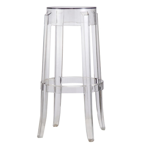 Replica Philippe Starck Charles Ghost Bar Stool