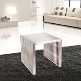 Zeta Stainless Steel Bench - Short