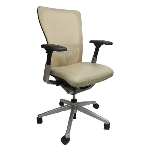 Haworth Zody Desk Chair - Leather Fully Adjustable
