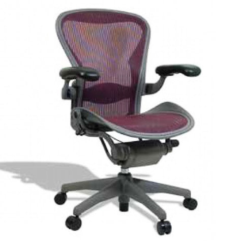 Herman Miller Aeron Loaded Size B Colored