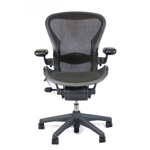 herman miller aeron loaded size b designer seating