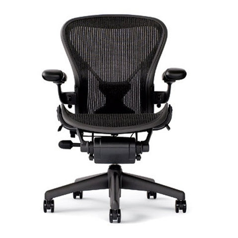 Herman Miller Aeron Loaded Size B PostureFit - Black