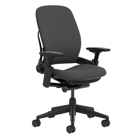 Steelcase Leap V1 Office Chair - Black Fabric