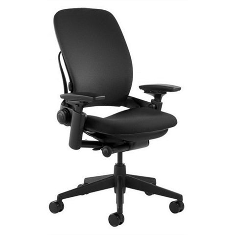 Steelcase Leap V2 Office Chair - Black Fabric