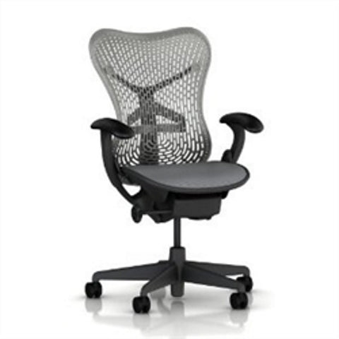 Herman Miller Mirra Work Chair - Black Fabric