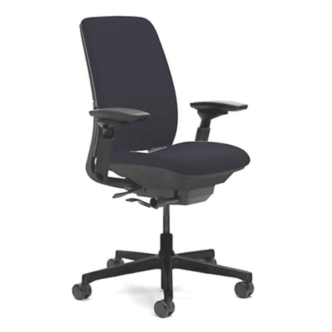 Steelcase Amia Office Chair - Fully Adjustable - Black Fabric