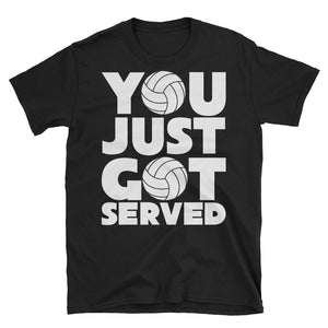 You Just Got Served Volleyball Player T-Shirt