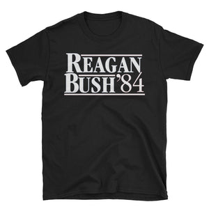 Ronald Reagan Shirt, Reagan Bush 84 T-Shirt