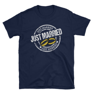 Just Married Ring T-Shirt