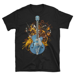 Electric Guitar Gift, Vintage Rock Shirts, Vintage Guitar Shirt