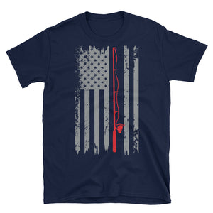 American Flag Fishing T-Shirt