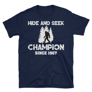 Hide And Seek Champion Big Foot Shirt