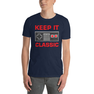 Keep It Classic Retro Gamer T-Shirt, Retro Gaming Shirt