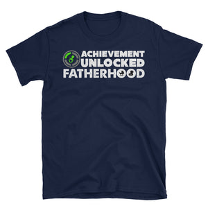 Funny Gaming Fatherhood Unlocked T-Shirt