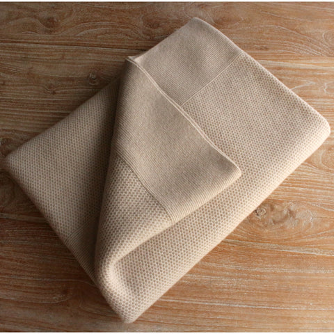 Mini Chunky Throw - Oatmeal