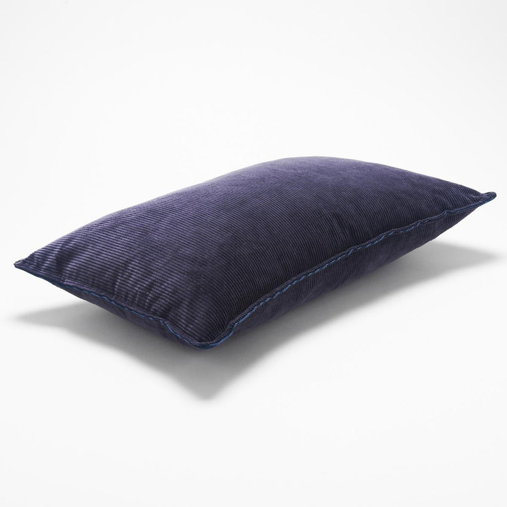CORDUROY CUSHION - Plum 50x30cm