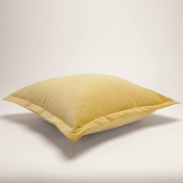 Corduroy Cushion Square Hay - 40% off