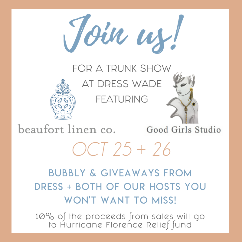 Dress Raleigh | Trunk Show Event!