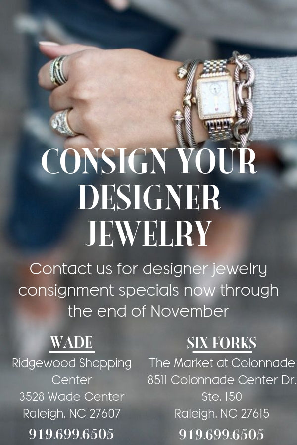 Designer Jewelry Consignment Raleigh