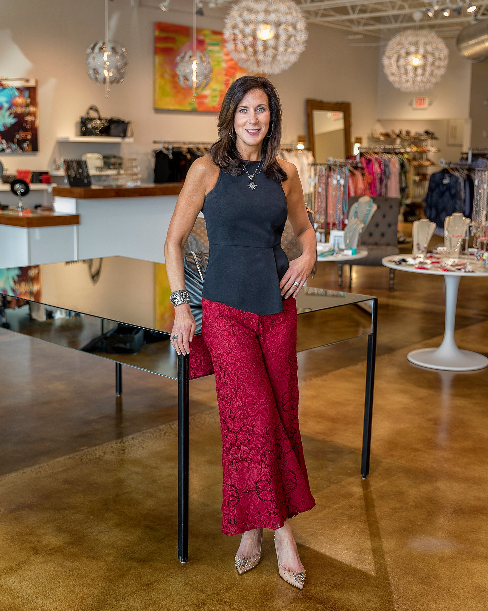 Raleigh consignment boutique owner