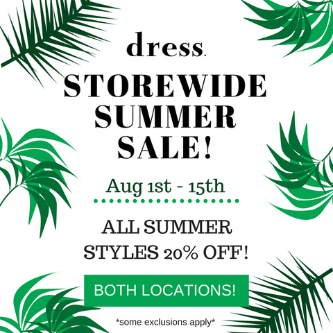 resale summer sale raleigh