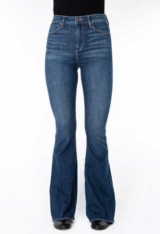 Articles of Society Bridgette Klamath Flare Jeans Front