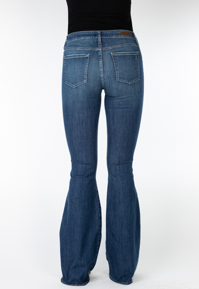Articles of Society Faith Indianola Flare Jeans Back