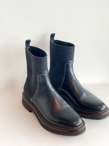 Brunello Cucinelli Ankle Boots - side