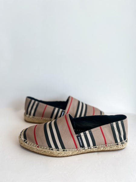 Burberry Alport Stripe Espadrille