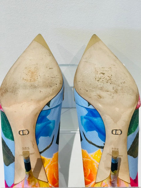 SOLD Christian Dior Floral Pump
