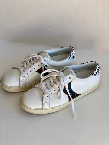 Celine Animal Print Sneakers Side One