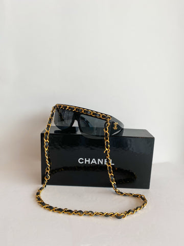 Chanel Chain-link Sunglasses Vintage