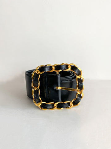 Chanel Chain-Link Belt