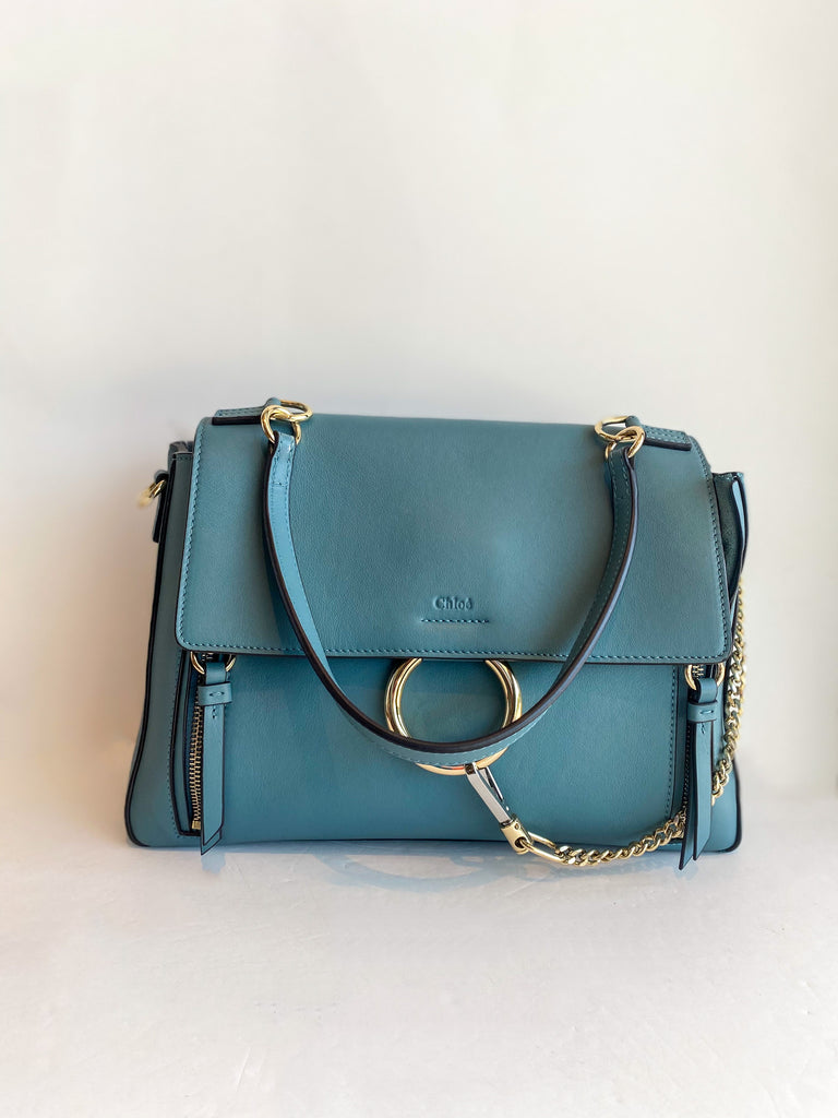 Chloe Faye Day Bag Stormy Blue