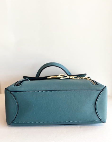 Chloe Faye Day Bag Stormy Blue Bottom