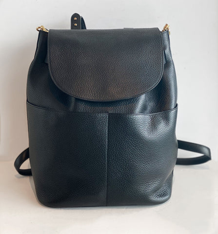 Cuyana Leather Backpack Front