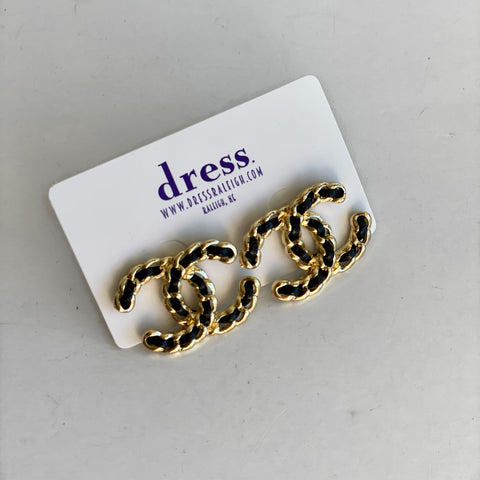 Designer Braided Studs