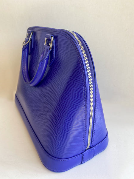 Louis Vuitton Epi Alma PM Figue