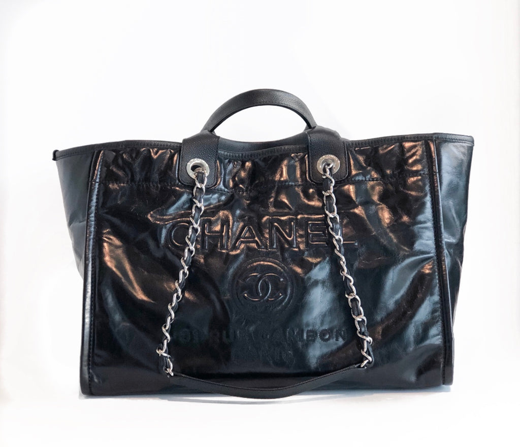 SOLD Chanel Deauville Tote