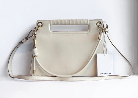 Givenchy Medium Whip Shoulder Bag White