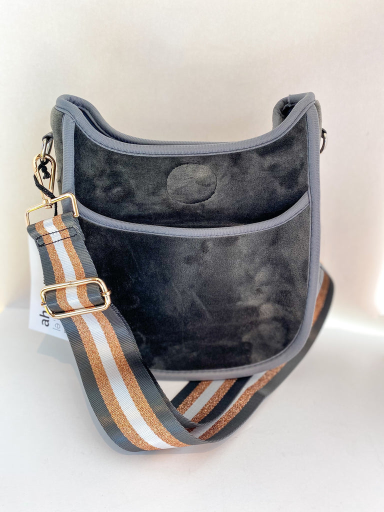 SOLD Ahdorned Mini Messenger Bag
