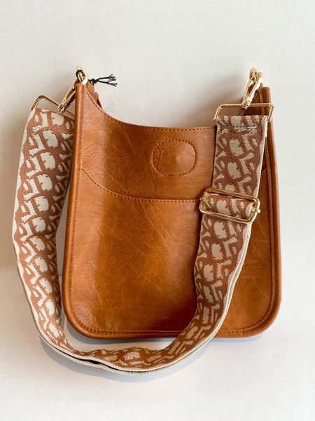 Ahdorned Mini Messenger Bag