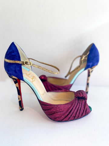 Christian Louboutin Marchavekel Multicolor Heels
