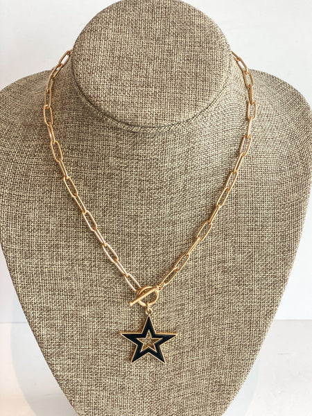 black start necklace